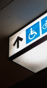 disabiity sign