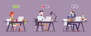 animated office workers